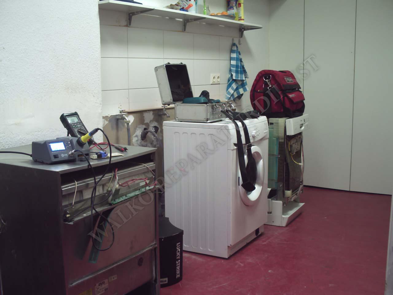waschmaschinen reparatur vor ort unsere werkstatt. Black Bedroom Furniture Sets. Home Design Ideas